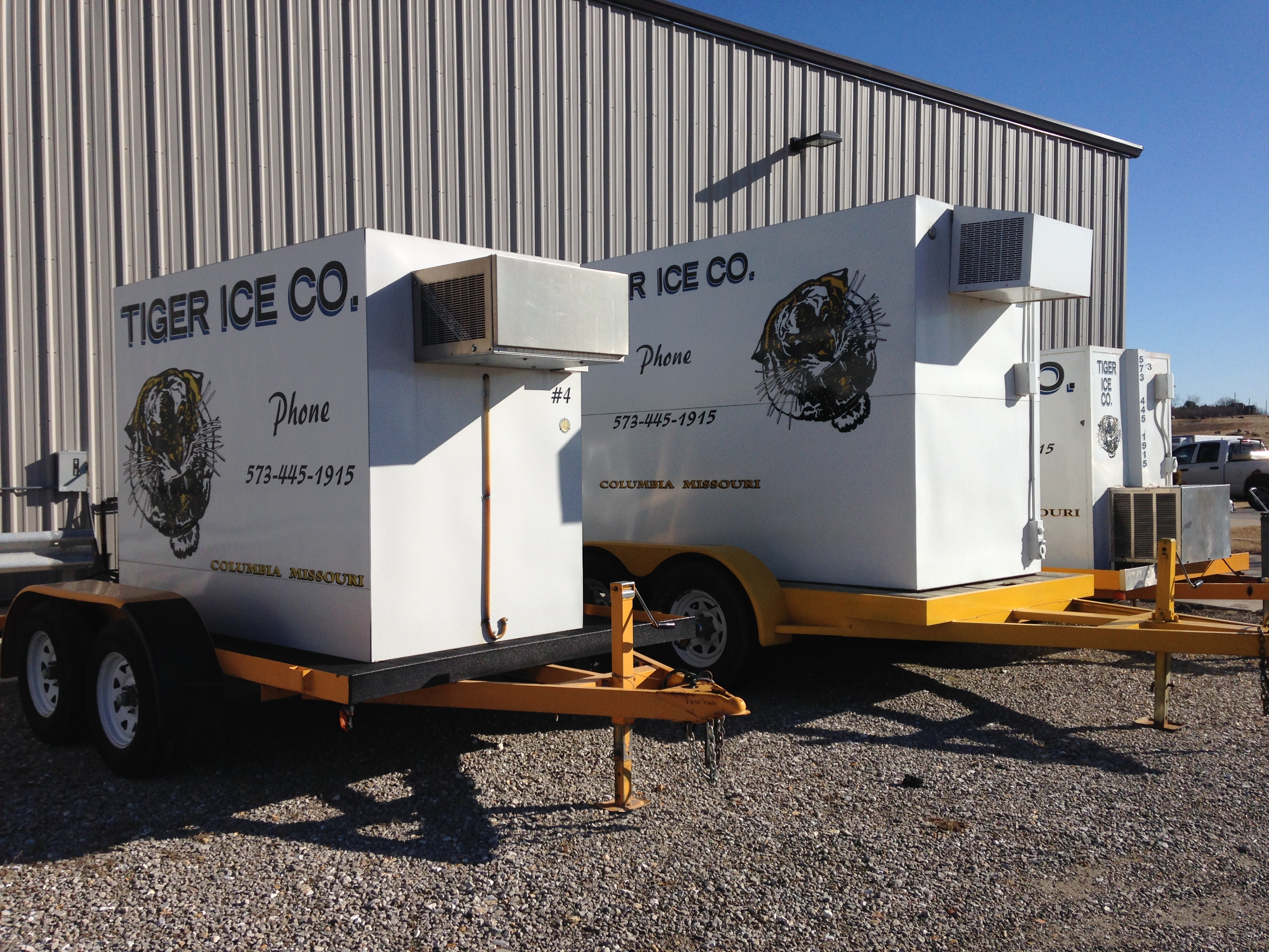 Freezer Storage & Cold Storage Rentals | Tiger Ice